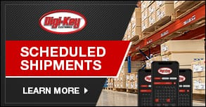 Scheduled Shipments