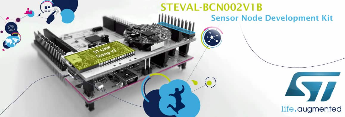 STEVAL-BCN002V1B Sensor Node Development Kit