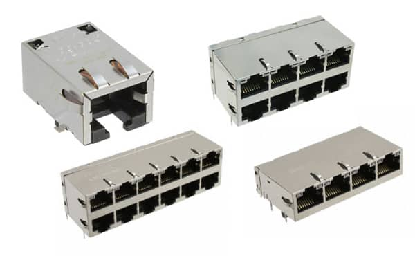 Image of Bel Fuse's MagJack Integrated Connector Modules