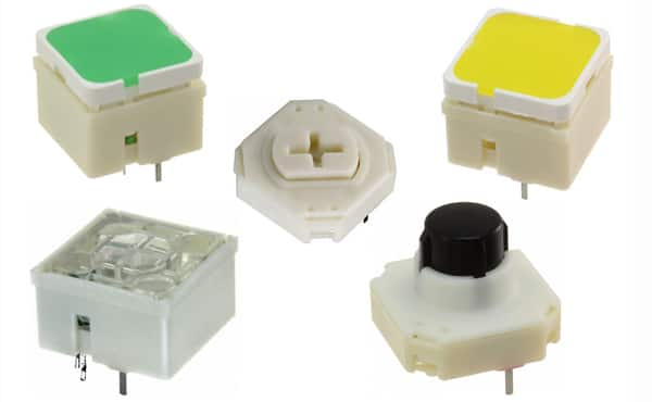 Image of RAFI's RF 15 Series Tactile Switches